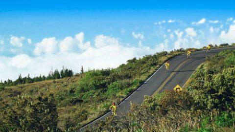 Bike Down Haleakala