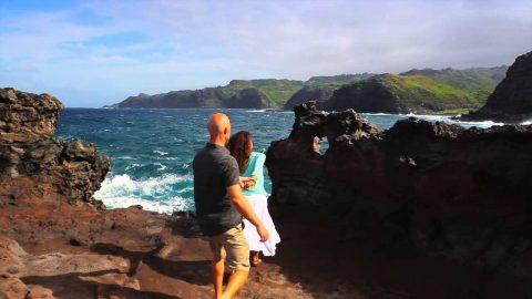 Honolua Bay, Heart Rock, Blowhole