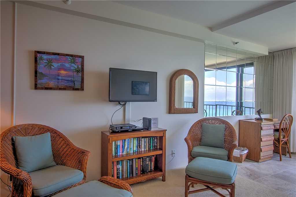 Sitting area & part of enclosed lanai