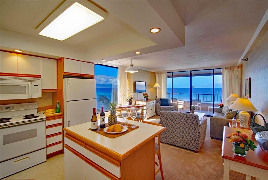 Sample Kitchen & Living area