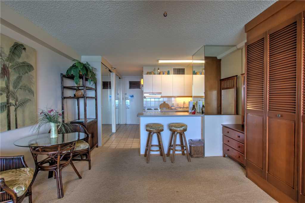 Partial living area & kitchen