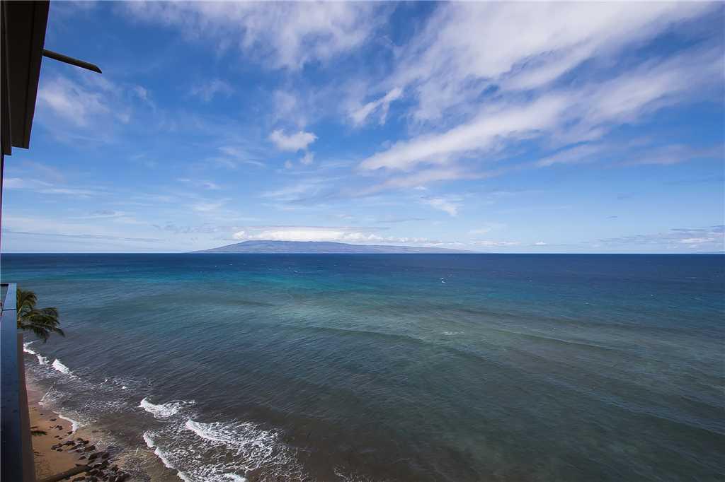 View of Lanai from lanai