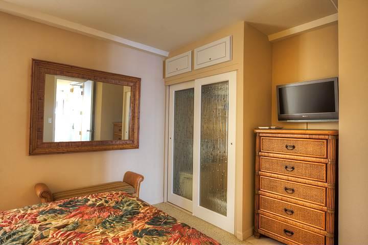 Partial bedroom
