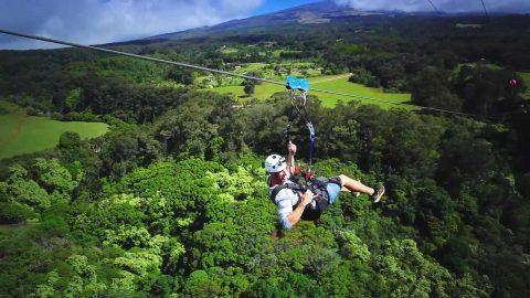 Plunge into Maui's Beauty on a Zipline